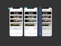 iPhone X prototyping in Figma