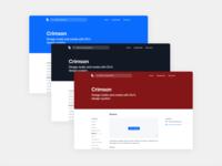 Crimson, on the web