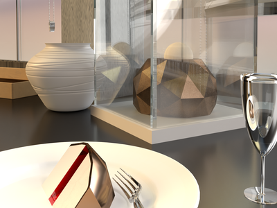 Dessert Mania #2 rhino3d adobe dimension illustration design risd