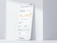 SKPAY Dashboard dashboard graphic product design product fintech app mobile design ui ux clean minimal digital wallet fintech