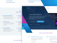 Landing Page for an Advertising Platform