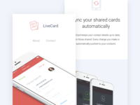 LiveCard - Contact manager for Android & iOS