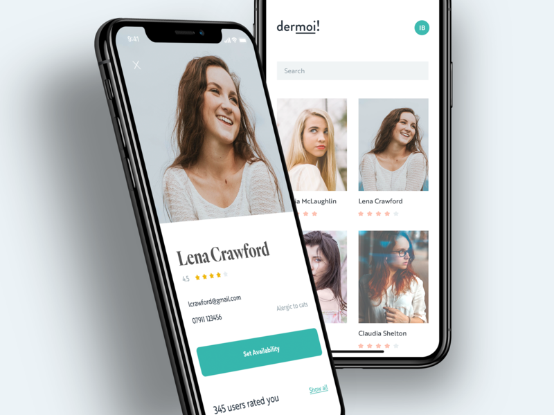 dermoi! mobile experience iphone x iphone app ios app ios typography mobile layout minimal clean ui design ux flat