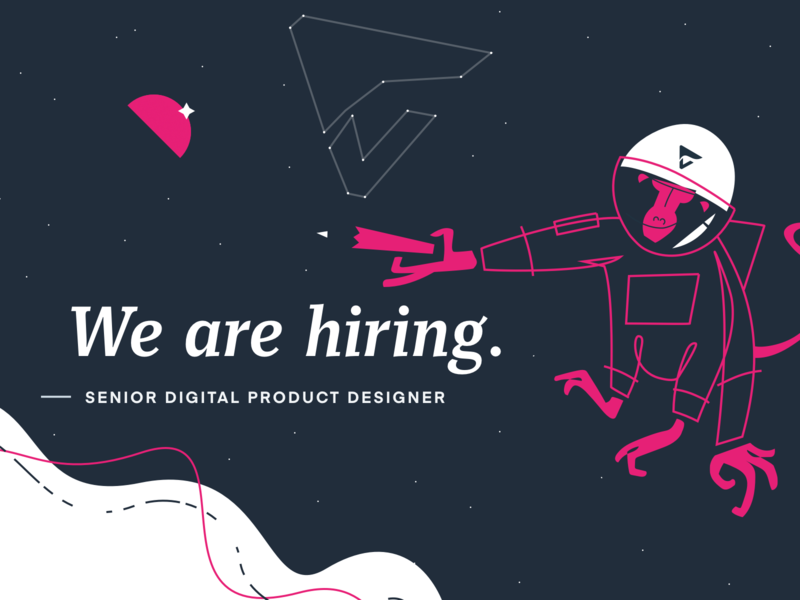 We are hiring! vector ux ui slovakia minimal job offer job application job listing job openings job illustration hiring flat design clean