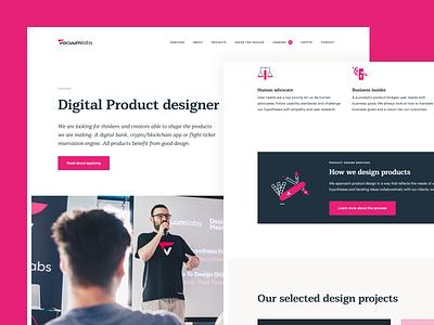 Careers | Digital Product Designer typography illustration branding minimal web ux design digital product product designer designer job offer