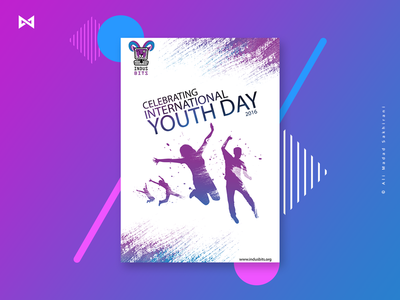 International Youth Day | Poster design