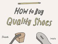 Shoe quality