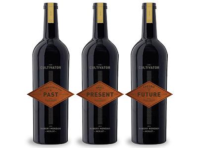 JGP Box and Bottle Labels wood box wine bottle labels