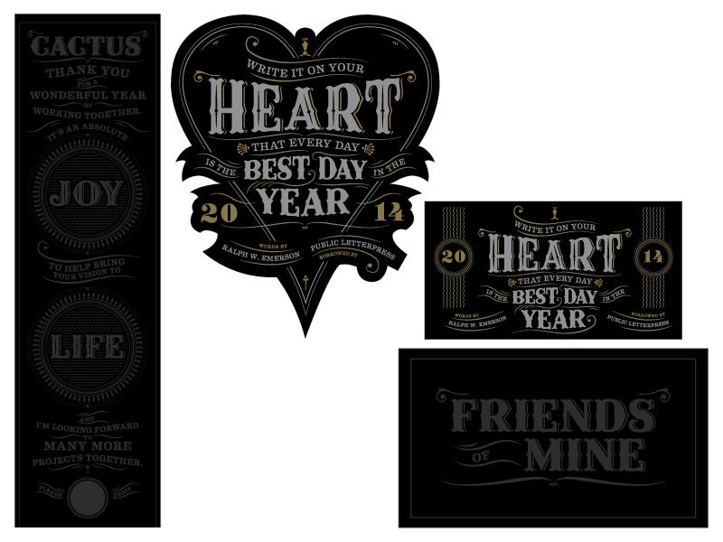 Public heart packaging