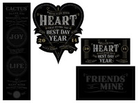 Public heart packaging