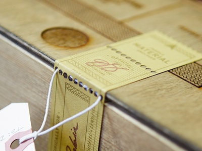Wine Box letterpress label laser engrave wood box wine bottle leather rubber stamp