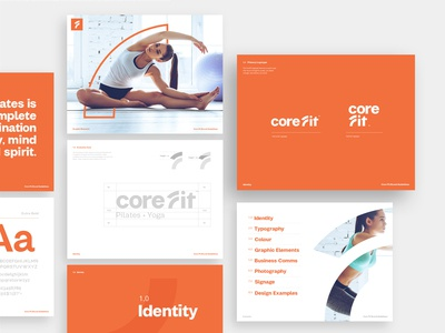 CoreFit - Brand Guidelines