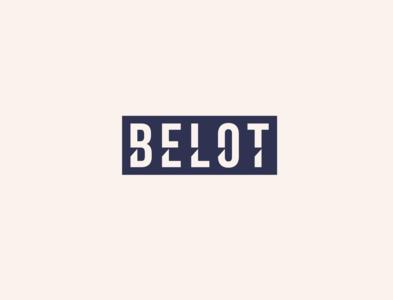 Belot - logo concept