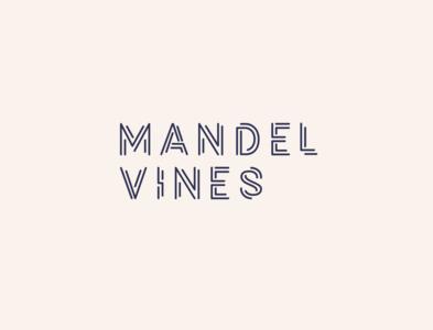 Mandel Vines - logo concept