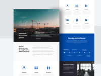 Landing Page for Restructuring Consulting Boutique