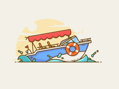 Yacht vacation adventure travel sailing lifebuoy wave ship water ocean sea yacht boat