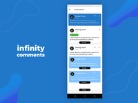 Infinity Comments
