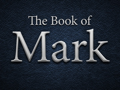 Title Screen for The Book of Mark leather silver