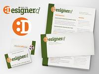 Logo Resume Business Card Mockup