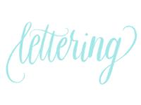 Lettering Practice in Procreate