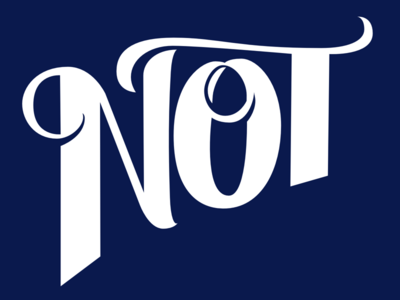 Not: Work in Progress affinity designer procreate lettering hand-lettering