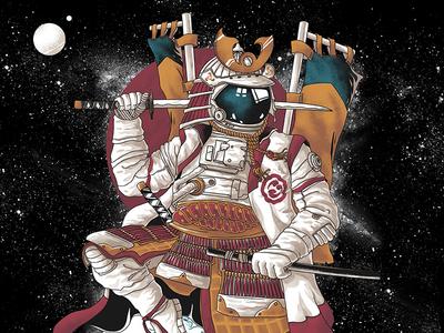 Samurai Astronaut