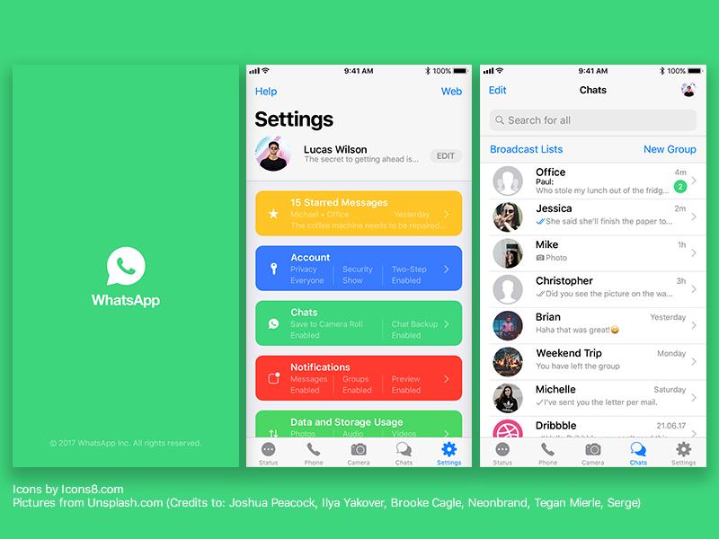 whatsapp chat backup hängt iphone