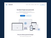 1Password — Website Redesign