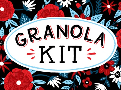 Granola Kit packaging