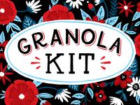 Granola Kit packaging