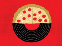 Pizza Vinyl Night