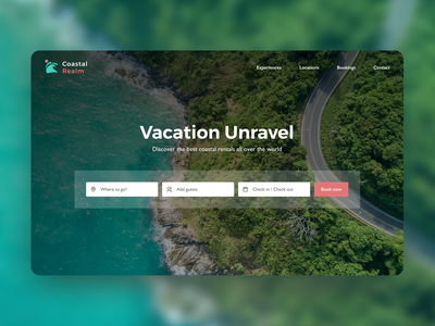 Day 16 of #30daysofwebdesign hero image daily ui ui design rental unsplash travel daily challenge hero section figmadesign landing page ui ux figma concept webdesign webdesigner 30daysofwebdesign