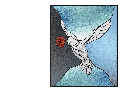 5511 - Stained Dove #2