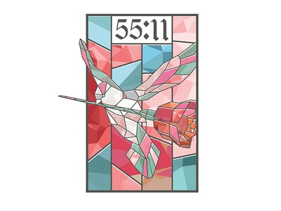 5511 - Stained Dove #1