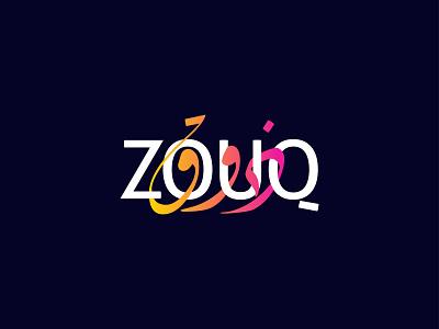 ZOUQ Logo Design design brand identity branding logodesign logotype logo