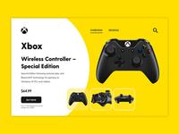 Xbox Controller UI