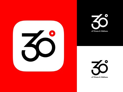 360 Icon fitness vector rebranding iconography icon design app icon icon brand identity brand 360