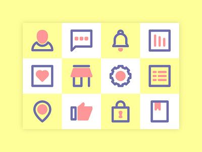 general icon set ui icon design icon set icons illustration icon branding