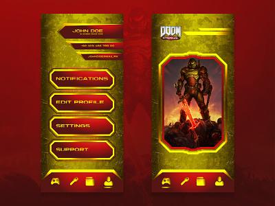 UI Design game app game app design game ui ui design uidesign uiux ui