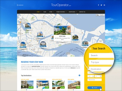 Touroperator WordPress Theme