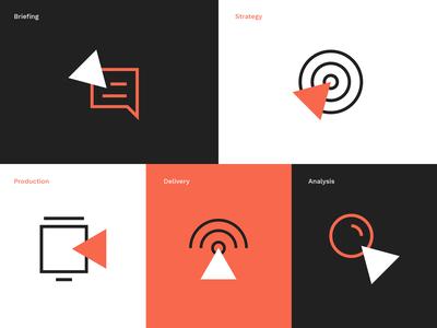 Motion Studio icon set