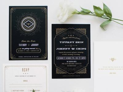 T & J Wedding Invite