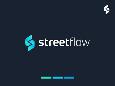 Logo design for StreetFlow design flow street modern icon logo