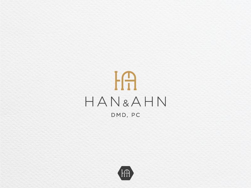 HAN & AHN DMD, PC luxury stomatology dental clinic ha logo