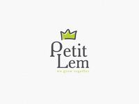 Logo design for Petit Lem Boutique