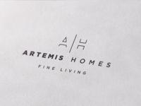 Logo design for Artemis Homes