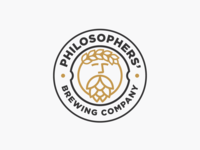 Logo design for PHILOSOPHERS' BREWING COMPANY