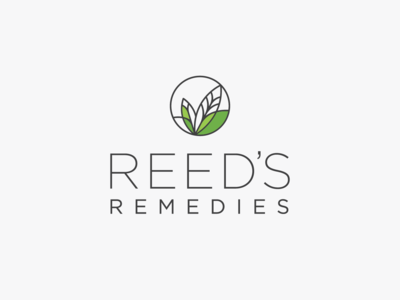 Logo & Packaging design for REED'S REMEDIES cbd oil hemp oil cbd hemp nature herbs package design logo design