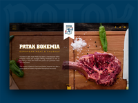 Website Design for Patak Meat Products