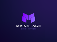 Logo and Icon Design for MainStage Gaming Network